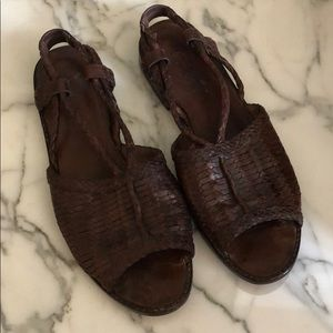 Cole Haan Resort Brown Sandals